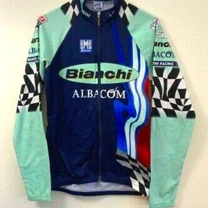 SMS Santini Bianchi MARTINI Cycle Racing Jersey